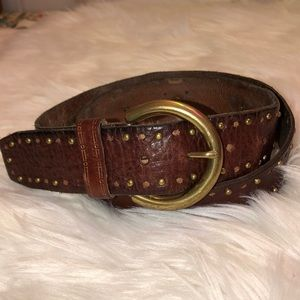Accessories - Fossil Leather belt Good Condition